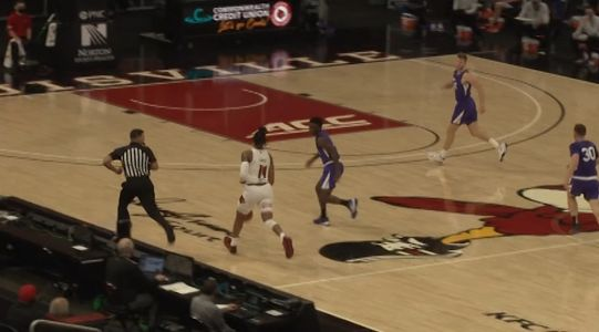 Jones scores 18 in Louisville debut to beat Evansville 79-44
