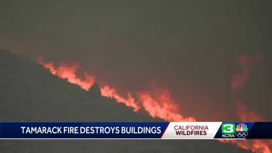 Tamarack Fire: Blaze continues to grow amid hot and dry conditions