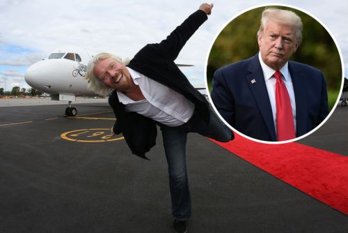 Donald Trump once lectured Richard Branson on running an airline