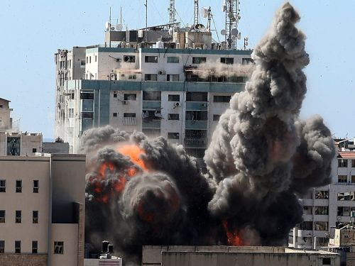 The Associated Press pushes back on Israel's claim about Gaza media building, saying they had 'no indication Hamas was in the building'