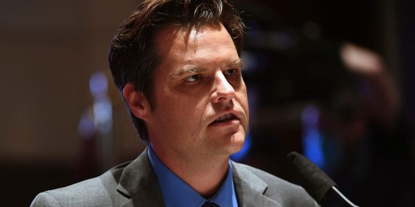 Matt Gaetz teased a 'fight back' ad, trying to shift attention from sex-trafficking allegations by alleging that CNN is out to get him