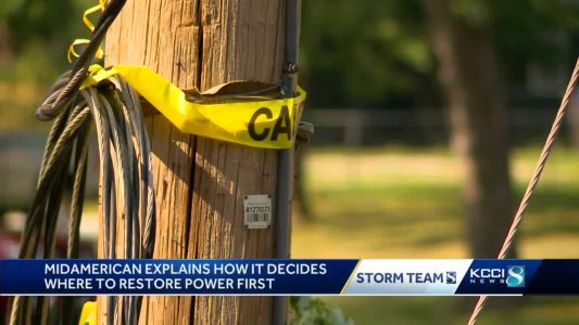 How energy services decide who to restore power to first