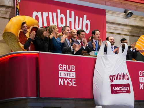 Grubhub just hired a new head of corporate affairs to help take on rivals Uber and DoorDash