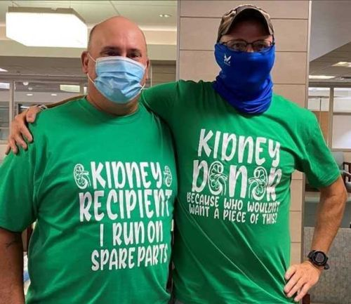 Kidney transplant connects two Oklahoma National Guardsmen for life
