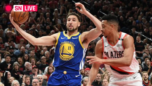 Warriors vs. Trail Blazers: Live score, highlights from Game 4 of Western Conference finals