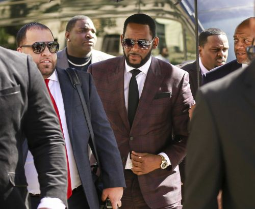 The Latest: Judge orders R&B singer R. Kelly held in jail