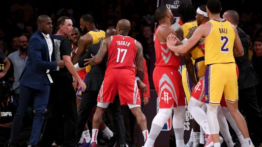 Rajon Rondo, Chris Paul, Brandon Ingram suspended for roles in Lakers-Rockets fight