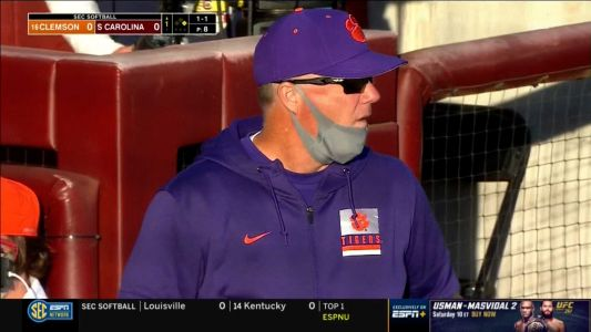 Clemson shuts out South Carolina in first ever meeting between softball programs