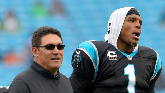 Panthers coach Ron Rivera: No decision yet on sitting Cam Newton