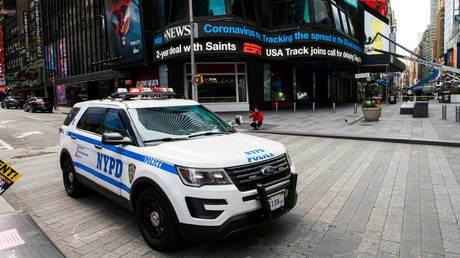 VIDEO of NYPD officers blaring 'Trump 2020' through patrol car loudspeaker SETS OFF liberals