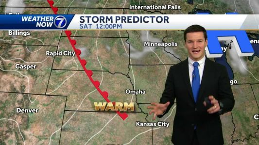 Warmer weather returns for the weekend