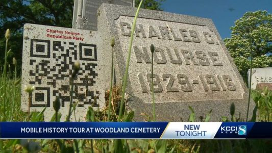 Iowa cemetery's QR codes bring the people's stories to life