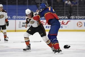 Terry scores shootout winner, Ducks beat Blues 3-2