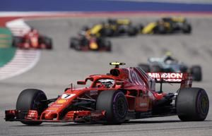 Raikkonen wins US Grand Prix as Hamilton F1 title bid denied