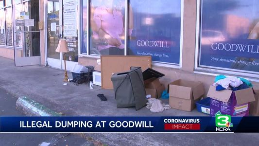 Lincoln Goodwill stores see illegal dumping despite being closed amid pandemic