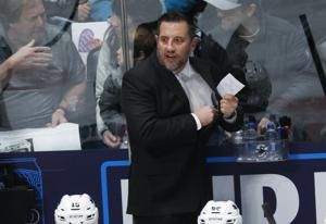 Sharks GM gives Boughner `upper hand' to take over as coach