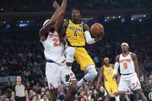 Pacers beat Knicks 106-98 in return from All-Star break