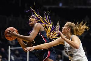 Edwards, Bueckers propel No. 1 UConn women past Butler 97-68