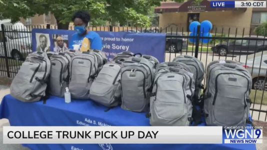 College trunk pick up day