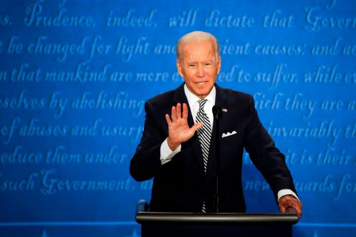 Biden campaign already selling 'Will you shut up, man' T-shirts