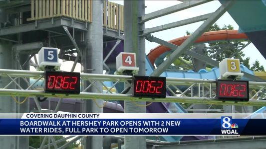 New rides open at Hershey Park
