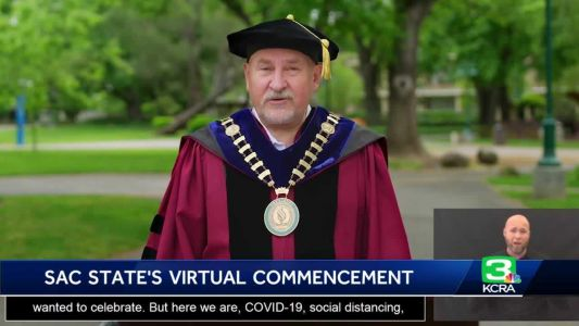 Nearly 10K graduates celebrate Sacramento State virtual commencement