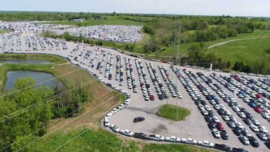 VIDEO: Thousands of new trucks sitting useless due to global parts shortage