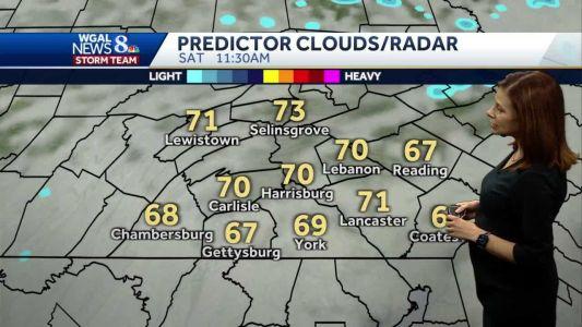 Weather improves this weekend