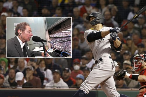 John Sterling butchers Giancarlo Stanton home run that wasn't: 'What did I do wrong?'