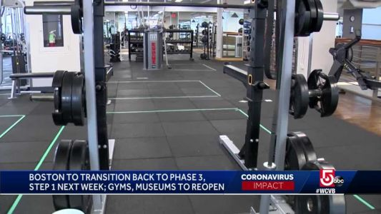 Boston gyms, museums, movie theaters reopening