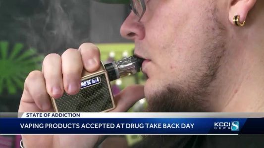 Vaping devices now accepted on Drug Take Back Day