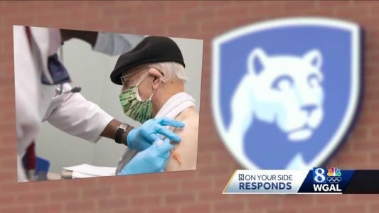 Penn State Health starts giving COVID-19 vaccine to some patients