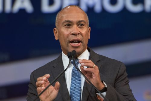 Deval Patrick speaks at California candidate forum after announcing 2020 run