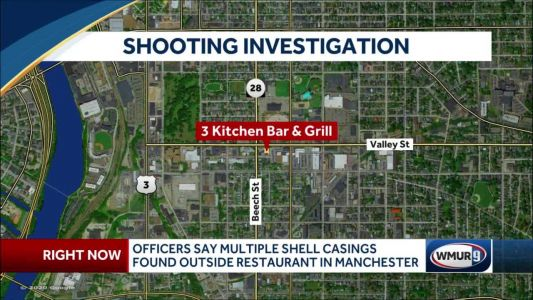 Manchester police investigating shooting outside 3 Kitchen Bar & Grill