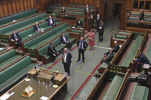 House of Commons bans virtual voting, opts for a queue