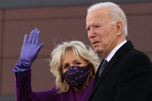 Biden tears up as he departs Delaware for the White House