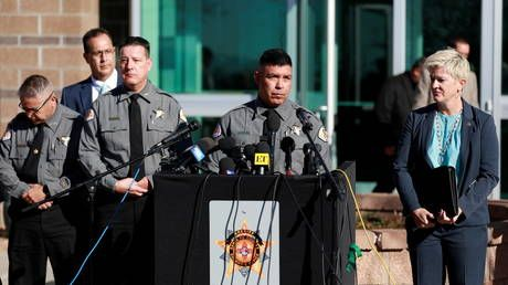 'Other live rounds' suspected on Baldwin set, sheriff says, but 'too early' to comment on potential charges over fatal shooting