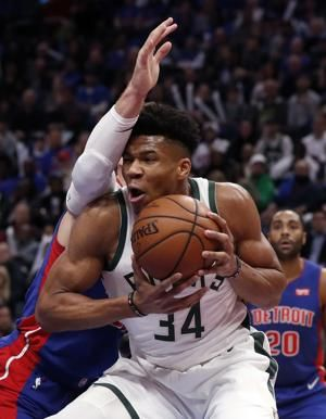 Bucks beat Pistons 119-103 to take 3-0 series lead