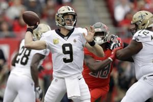 Brees throws for 228 yards, 3 TDs as Saints beat Bucs 34-17