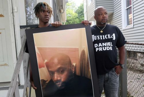 Protesters gather after announcement that no officers will be charged in Daniel Prude's death