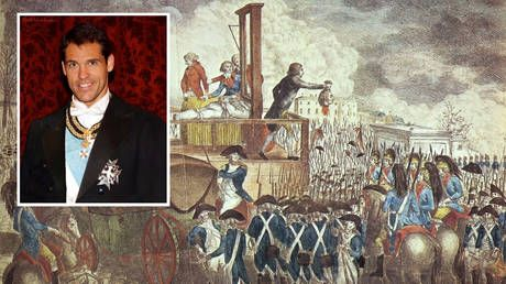 'Heir of Louis XVI' mercilessly ROASTED after appealing for protest-damaged statue of guillotined king to be repaired