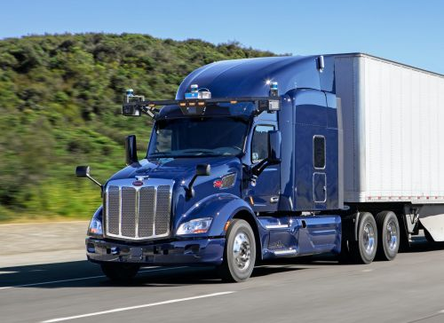 Amazon-backed Aurora just inked a major deal to put its self-driving software in semi trucks
