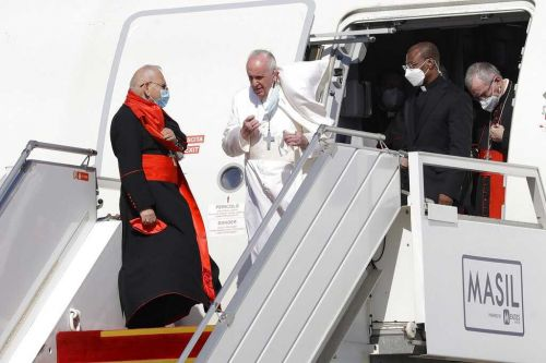 Pope Francis arrives in Iraq to rally Christians despite pandemic