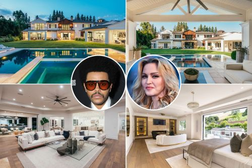 Madonna just dropped $19.3M to buy The Weeknd's Hidden Hills house