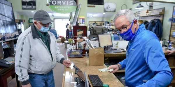 US economy adds 379,000 payrolls in February, smashing forecasts as virus cases tumble