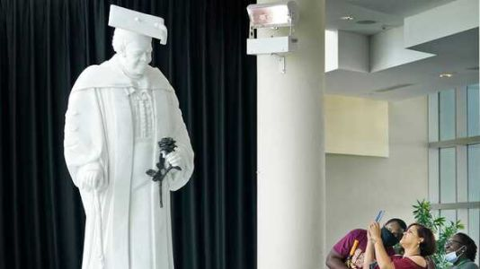 This statue of Mary McLeod Bethune will soon make history at the U.S. Capitol