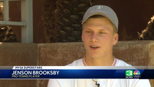 My58 Superstar: Sacramento's Jenson Brooksby started playing tennis at age 4