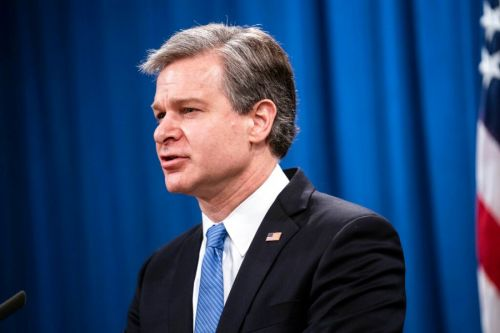FBI chief set to testify for the first time since Capitol riot