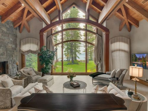 A Lake Tahoe estate that neighbors Mark Zuckerberg's is on the market for $44 million. Look at the sprawling property in the California enclave where sales are soaring in the pandemic