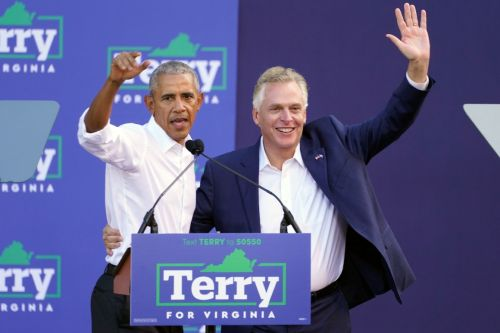 'We don't have time to be tired': Obama tries to jolt Virginia Dems at McAuliffe rally